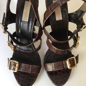 Michael Kors leather sandals size 10